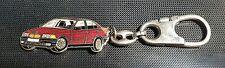 BMW 6er 7er Schlüsselanhänger Keyring rot metallic Maße Fahrzeug 57x25mm