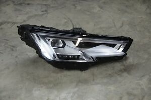 2017 2018 Audi A4 S4 Right Rh Passenger Side Full Led Headlight Oem