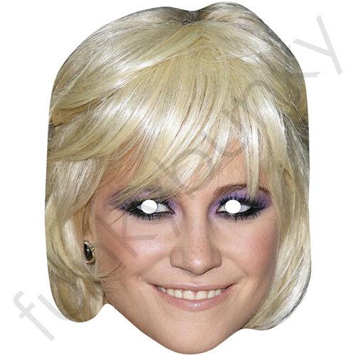 Pixie Lott Celebridad cantante Tarjeta Mascarilla-todas nuestras máscaras son pre-corte!