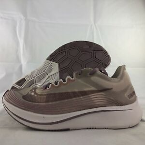 e794fa6d1dccd Nike NikeLab Zoom Fly SP Chicago Taupe Grey Obsidian AA3172-200 Men  ...