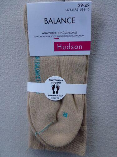 HUDSON Damen Socken BALANCE Sportsocken Links Rechts anatomische Plüschsohle
