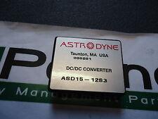 ASD15-12S3 Astrodyne Modular DC/DC Converters Brand New!