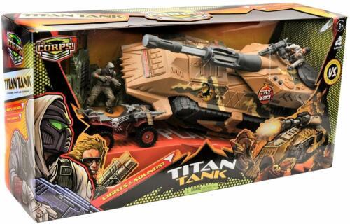 Lanard Toys The Corps Elite Battle Tank
