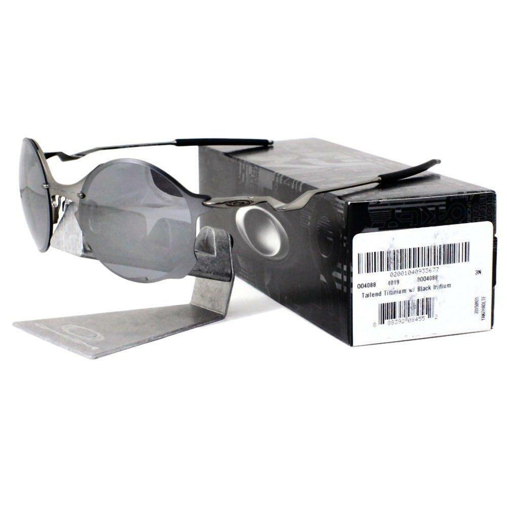 a29803d244 Oakley Men s Tailend Oo4088-01 Round Sunglasses Titanium 56 Mm for ...