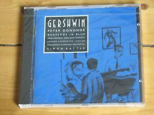 NEW-SEALED-EMI-CD-Gershwin-Rhapsody-In-Blue-Peter-Donohoe-Simon-Rattle