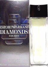 EMPORIO ARMANI DIAMONDS FOR MEN Eau De Toilette Spray 2.5 Oz / 75 ml BRAND NEW !