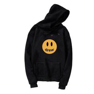 2020 Drew House Hoodie Unisex Tops Happy Face JustinBieber Coat oversize