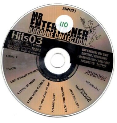 Generous Mr Entertainer Karaoke Collection Hits 03 Mrh03 12 Massive Hits Musical Instruments & Gear