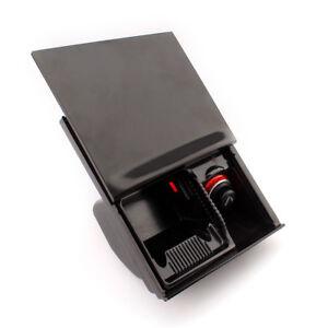 Noir-Allume-Cigare-Voiture-Centre-avant-Console-Cendrier-pour-VW-Jetta-Golf-Bora