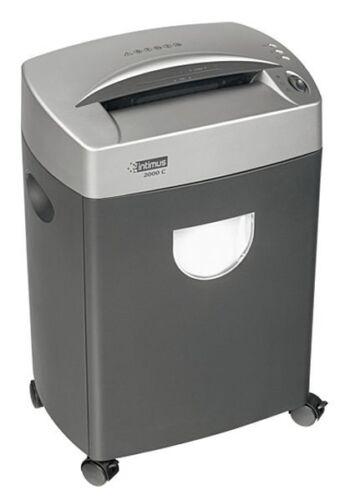 intimus 2000 S Aktenvernichter Streifenschnitt Büro Shredder