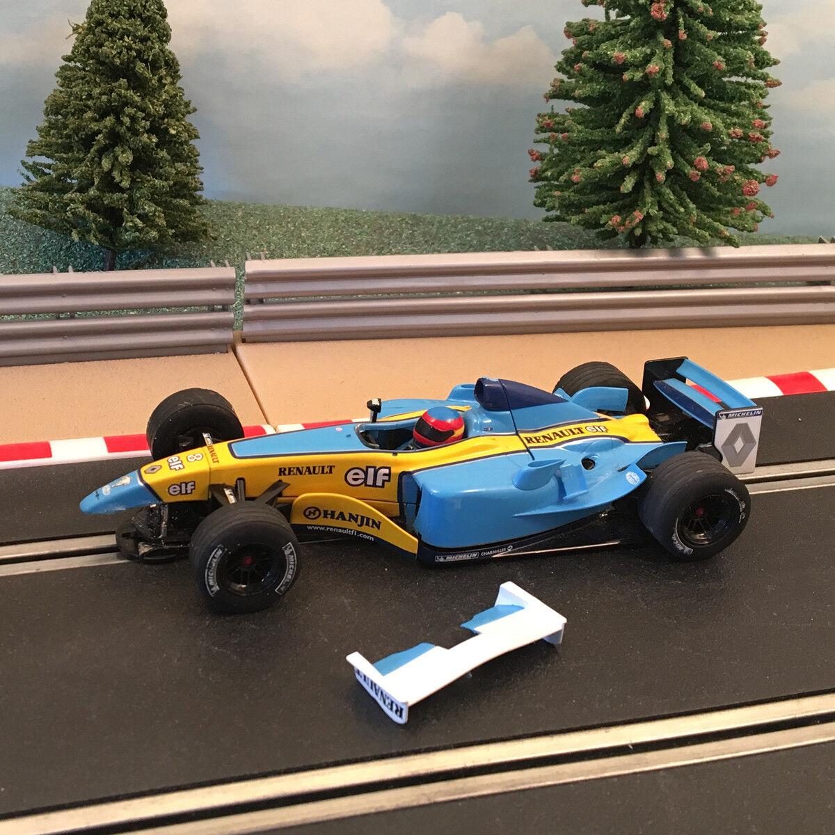 Scalextric 1 32 Car - F1 Renault elf  A