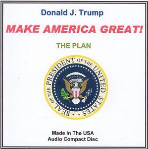 Donald-J-Trump-The-Plan-MAKE-AMERICA-GREAT-audio-CD