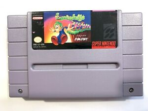 Lemmings-SNES-Super-Nintendo-Game-Tested-amp-Authentic