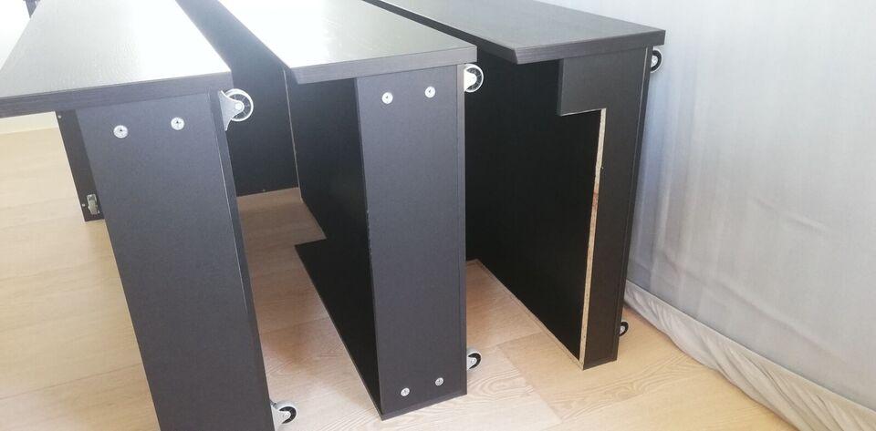 Sengeramme, Ikea Malm, b: 196 l: 209 h: 38