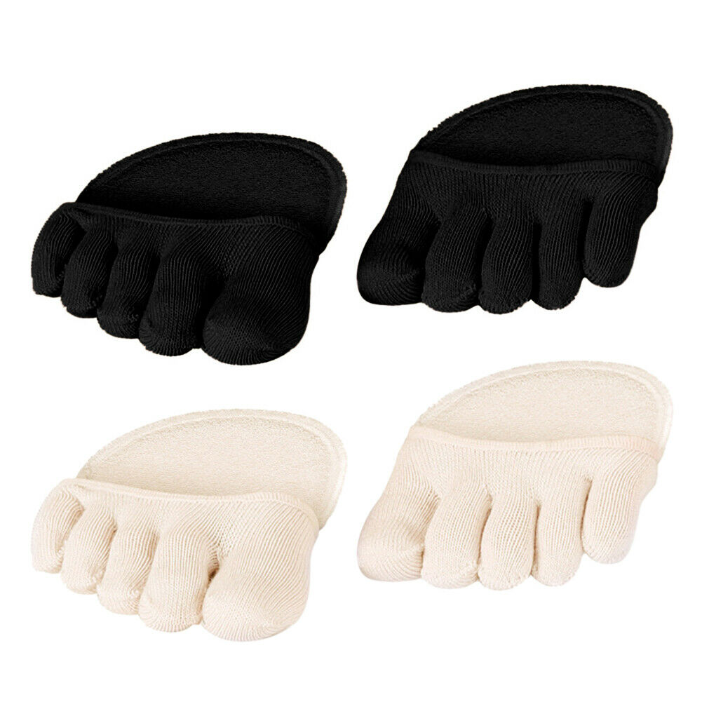 Cotton Half Insoles Pads Cushion Metatarsal Sore Forefoot Support ✧