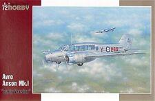 Special Hobby 1/72 Avro Anson Mk. I Early Version # 72212