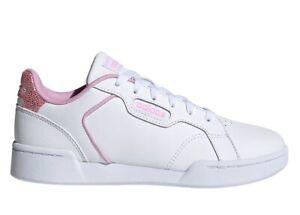 Chaussures Femme adidas FY7182 Baskets De Gymnastique Sportif Basses Cuir Blanc