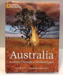 Australia-Journey-Through-Timeless-Land-Roff-Smith-National-Geographic-Book-HC