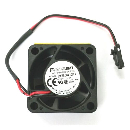 Fonsan NEW Delta Electronics DFB0412H 40mm x 20mm 12V DC High Speed Cooling Fan