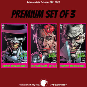 BATMAN-THREE-JOKERS-3-OF-3-PREMIUM-SET-OF-3-G-H-amp-I-COVERS-1st-Print-PREORDER