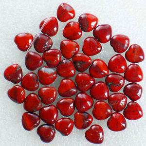 QSAM02236-Beautiful-100pcs-Red-Jasper-heart-pendant-bead