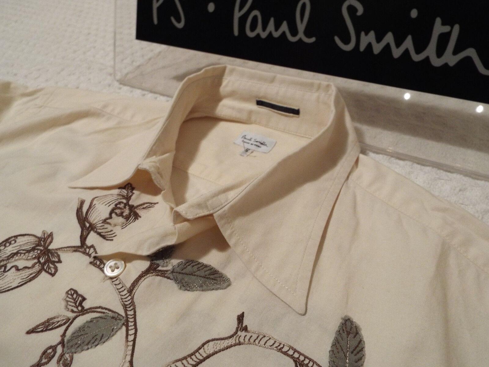 Paul Smith Mainline Maglietta da uomo  taglia S (circonferenza petto 42 )  RRP +  Floreale