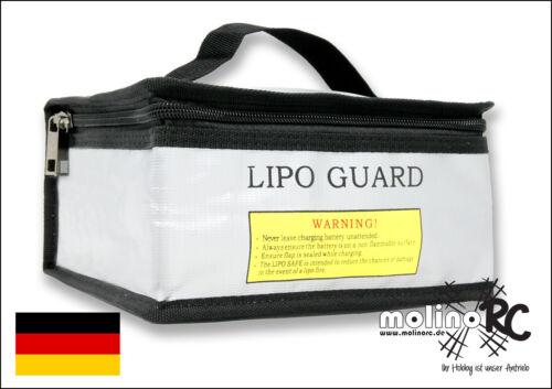 molinoRC feuerfeste Lipo Akku Tasche safe bag Akkutasche Lipotasche aus BRD :