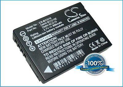 Lumix DMC-ZR3R 3.7V battery for Panasonic Lumix DMC-TZ6R DMW-BCG10 DMW-BCG10E