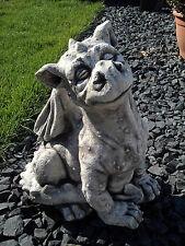 Top Modell! Riesiger massiver Stein Drachen Gartendeko aus Steinguss frostfest