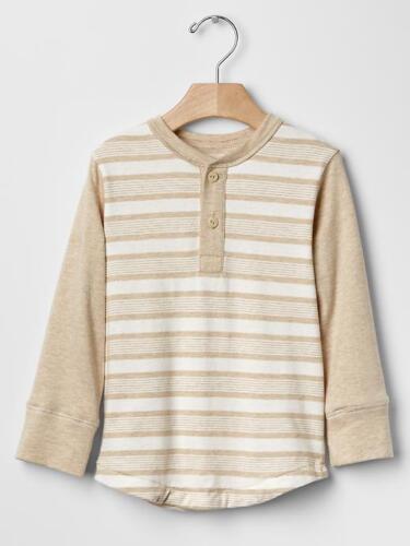 GAP Boy Long Sleeve Tee Joggers Knit Twill Pants Cotton Beige Blue 3T 4T 5T