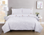 Pintuck-Pinch-Pleated-Duvet-Cover-Bedding-Set-Single-Double-King-With-Pillowcase thumbnail 3