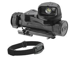 Petzl STRIX VL Tactical Military Head Torch MOLLE Flashlight Helmet Light Black