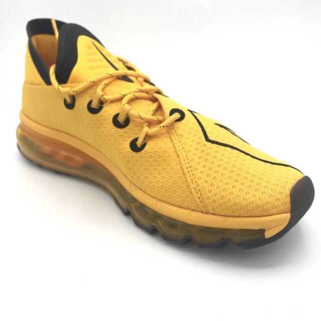 UpTempo Mens Black Gold Air Yellow Nike 942236 Trainers Flair University Max 700 SMpjVzULqG