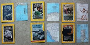 National-Geographic-1965-February-March-May-August-Sept-Nov-Maps-Coke-Ad