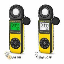 Digital lux Meter Illumination 9v Battery 4.92 Photo Sensor Length 2 Samples//sec