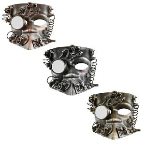 SORAT5631 2 Oxidized Silver Plated Brass Reindeer Head Charms