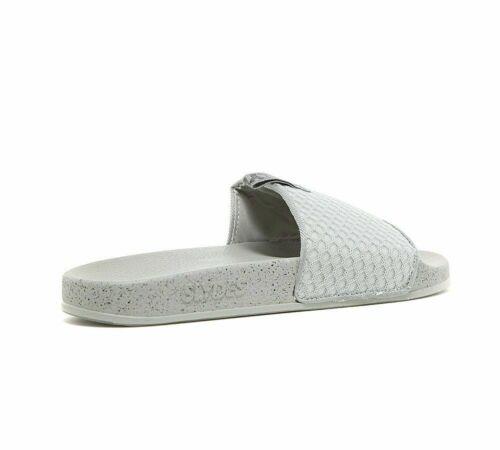 Mens Slydes Cruz Mesh Grey Slides