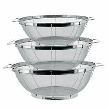 Imperial Home 3 Piece Stainless Steel Colander Set For Sale Online Ebay