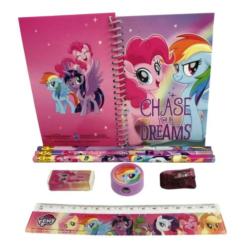 """My Little Pony /""""Chase your Dream/"""" Stationary Set Pencil Notebook School Supplies"""