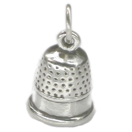 Thimble sterling silver charm .925 x 1 Thimbles and sewing charms SSLP3846