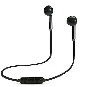Y6 Sports Bluetooth Headset Wireless Black Earphone with Mic
