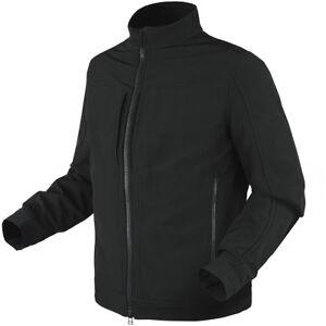 Condor-Intrepid-Softshell-Chaqueta-Tactico-Hombre-Policia-Seguridad-Caza-Negro