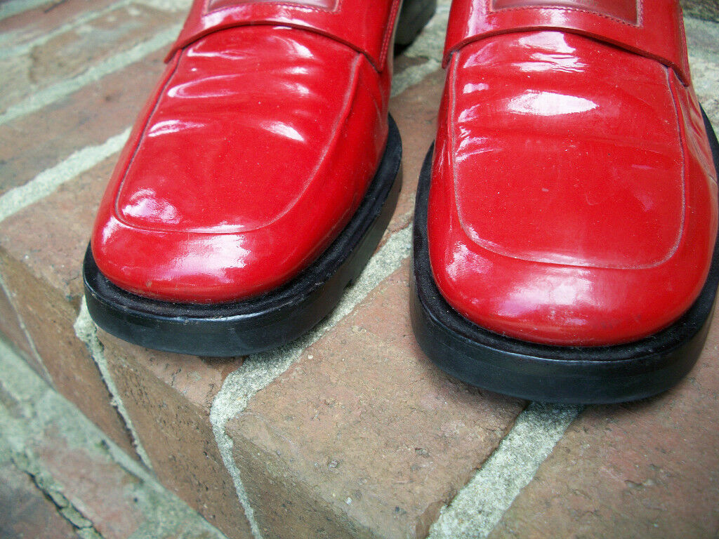 AUTHENTIC VINTAGE GUCCI LIPSTICK RED SHINY PATENT… - image 5