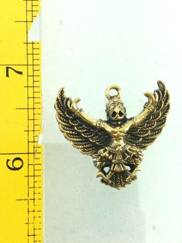Thai Garuda Amulet Phaya Krut Talisman Power Good Business Successful Pendant