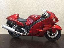 Suzuki GSX-R 1300 HAYABUSA Red Motorcycle 1/18 GSXR 1300R GSXR1300 GSX1300R