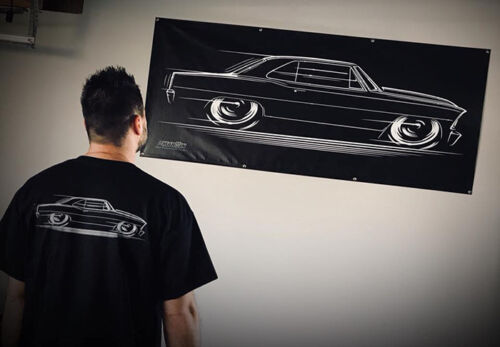 Big Banner /'66 /'67 Chevy II Nova 1966 1967 Chevrolet SS V8 66 67