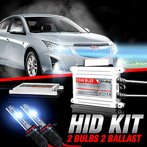 genssi hid xenon conversion kit bulbs for chevy cruze 2011. Black Bedroom Furniture Sets. Home Design Ideas
