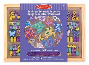 Melissa-amp-Doug-Schmetterling-Freunde-Holzperlen-Set-150-Beads