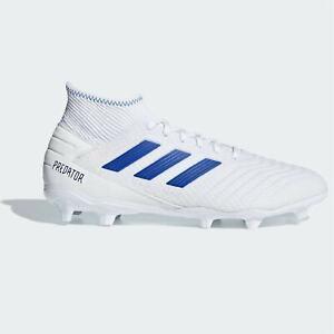 adidas-Mens-Predator-19-3-FG-Football-Boots-Firm-Ground-Lace-Up-Studs-Stretch