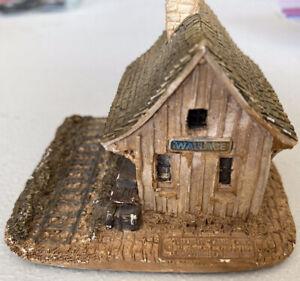 Lilliput Lane Estación de colección estadounidense Wallace Miniatura Decoración de Reino Unido 1984 - 1985